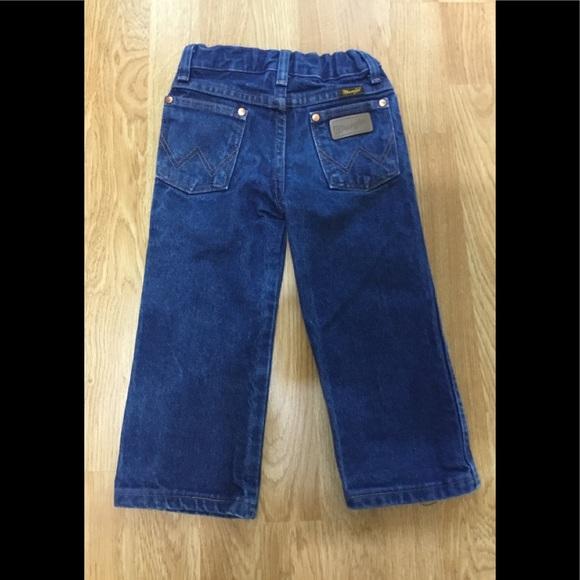 20894561 Wrangler Bottoms   Getty Up Boys 3t Jeans   Poshmark